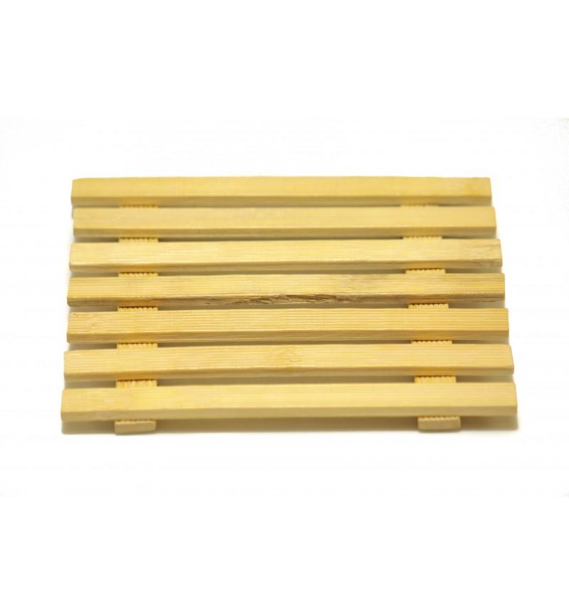 Szögletes alátét bambusz