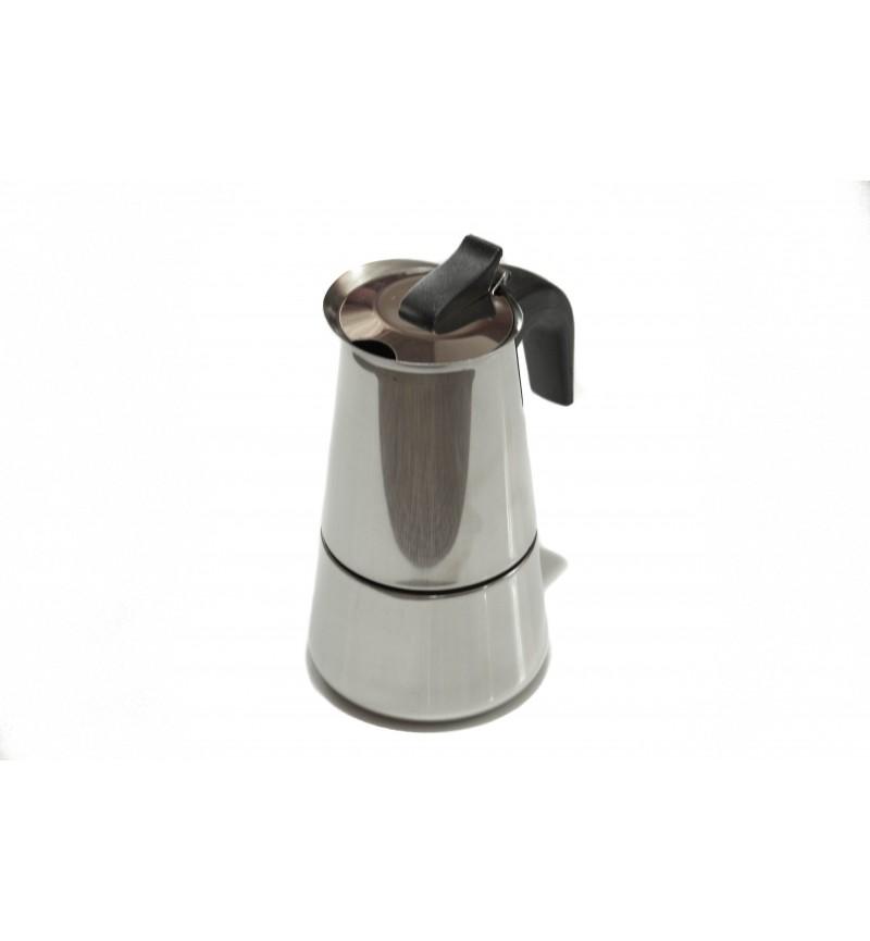 Kávéfőző 2 személyes rozsdamentes
