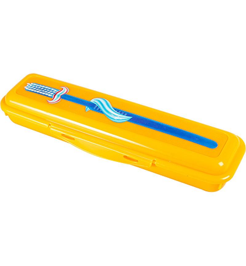 Fogkefe és fogkrém tároló