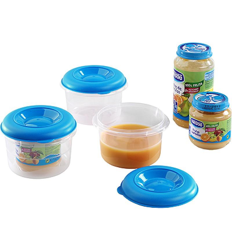 Ételtároló mikro Baby 3db 0.3l