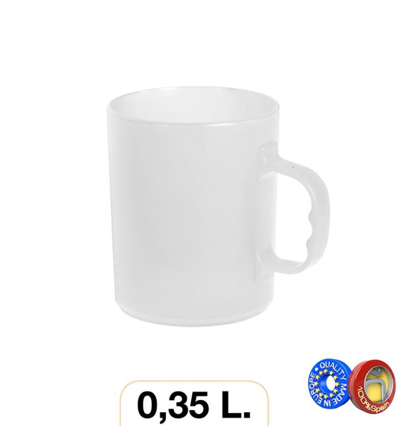 Bögre 0.35l fehér
