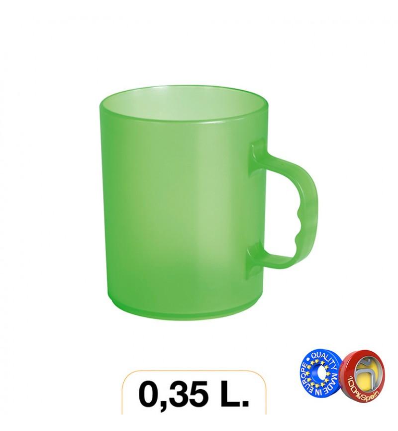 Bögre 0.35l színes