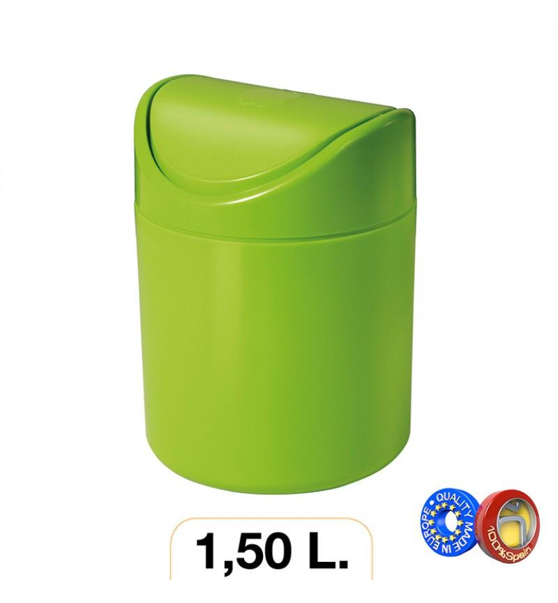 Asztali szemetes 1.5l színes