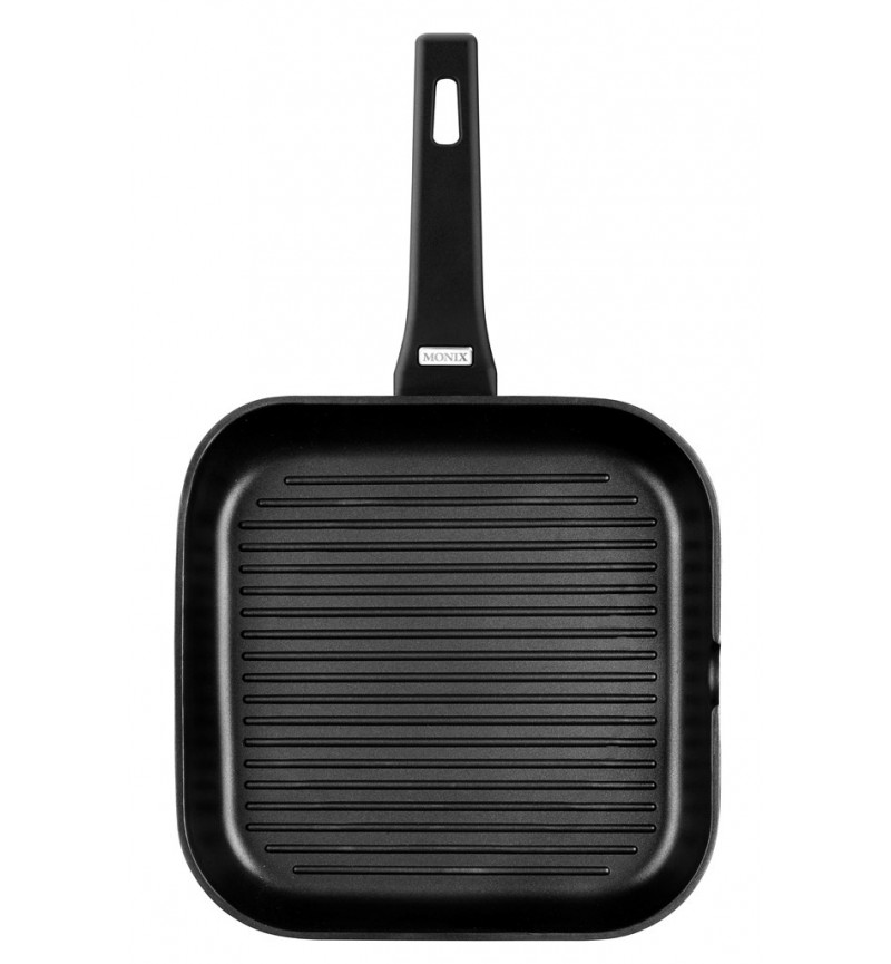 Grill serpenyő 24cm Solid+