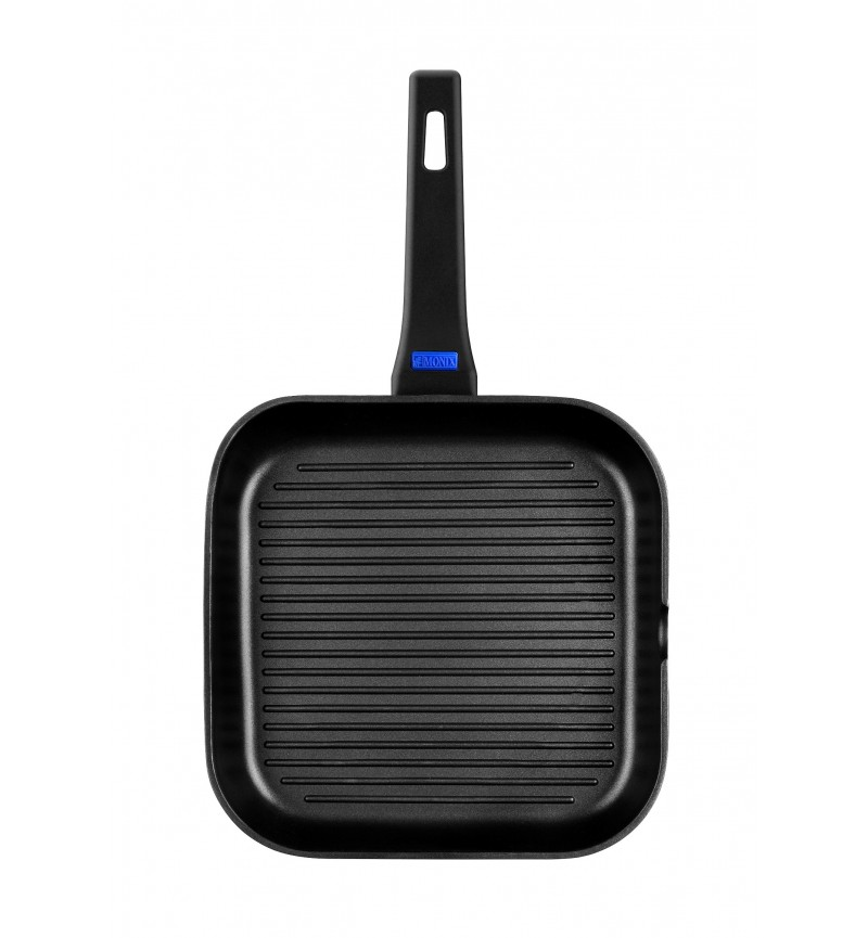 Grill serpenyő 28cm Solid+
